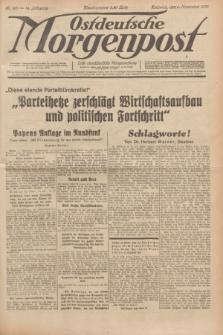 Ostdeutsche Morgenpost : erste oberschlesische Morgenzeitung. Jg.14, Nr. 307 (5 November 1932)