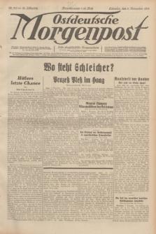 Ostdeutsche Morgenpost : erste oberschlesische Morgenzeitung. Jg.14, Nr. 310 (8 November 1932)