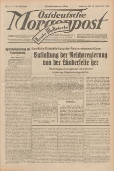Ostdeutsche Morgenpost : erste oberschlesische Morgenzeitung. Jg.14, Nr. 315 (13 November 1932) + dod.