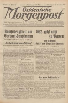 Ostdeutsche Morgenpost : erste oberschlesische Morgenzeitung. Jg.14, Nr. 318 (16 November 1932)