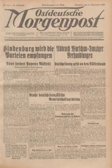 Ostdeutsche Morgenpost : erste oberschlesische Morgenzeitung. Jg.14, Nr. 319 (17 November 1932)