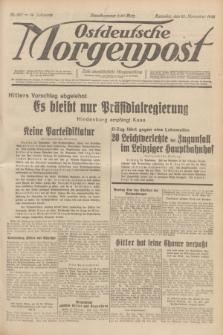 Ostdeutsche Morgenpost : erste oberschlesische Morgenzeitung. Jg.14, Nr. 327 (25 November 1932)