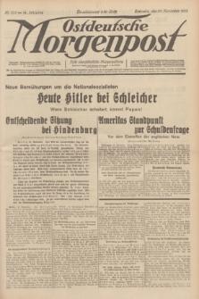 Ostdeutsche Morgenpost : erste oberschlesische Morgenzeitung. Jg.14, Nr. 332 (30 November 1932)