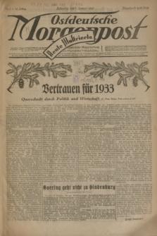 Ostdeutsche Morgenpost : erste oberschlesische Morgenzeitung. Jg.15, Nr. 1 (1 Januar 1933) + dod.