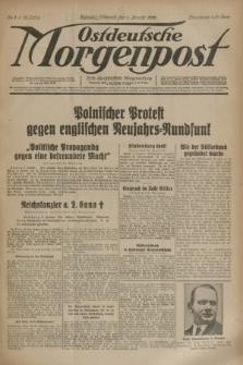 Ostdeutsche Morgenpost : erste oberschlesische Morgenzeitung. Jg.15, Nr. 4 (4 Januar 1933)