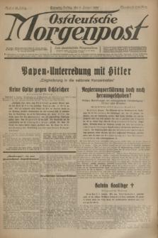 Ostdeutsche Morgenpost : erste oberschlesische Morgenzeitung. Jg.15, Nr. 6 (6 Januar 1933)
