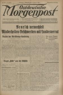 Ostdeutsche Morgenpost : erste oberschlesische Morgenzeitung. Jg.15, Nr. 25 (25 Januar 1933)