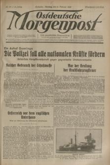 Ostdeutsche Morgenpost : erste oberschlesische Morgenzeitung. Jg.15, Nr. 52 (21 Februar 1933)