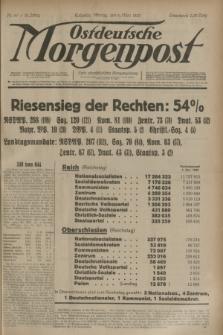 Ostdeutsche Morgenpost : erste oberschlesische Morgenzeitung. Jg.15, Nr. 65 (6 März 1933) + dod.