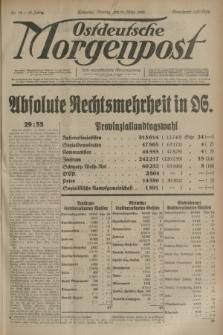 Ostdeutsche Morgenpost : erste oberschlesische Morgenzeitung. Jg.15, Nr. 72 (13 März 1933) + dod.