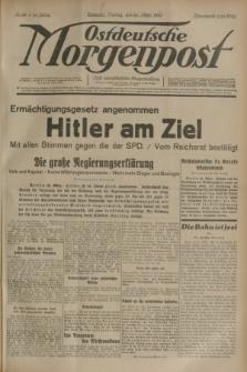 Ostdeutsche Morgenpost : erste oberschlesische Morgenzeitung. Jg.15, Nr. 83 (24 März 1933)