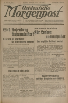 Ostdeutsche Morgenpost : erste oberschlesische Morgenzeitung. Jg.15, Nr. 107 (19 April 1933)