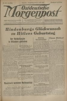 Ostdeutsche Morgenpost : erste oberschlesische Morgenzeitung. Jg.15, Nr. 108 (20 April 1933)