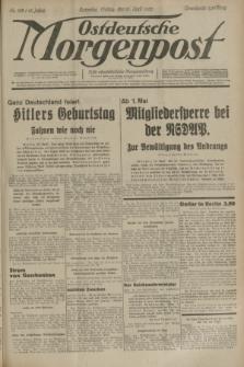 Ostdeutsche Morgenpost : erste oberschlesische Morgenzeitung. Jg.15, Nr. 109 (21 April 1933)