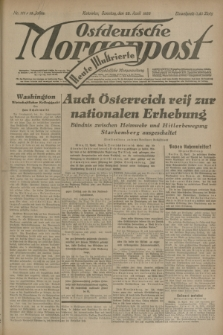 Ostdeutsche Morgenpost : erste oberschlesische Morgenzeitung. Jg.15, Nr. 111 (23 April 1933) + dod.