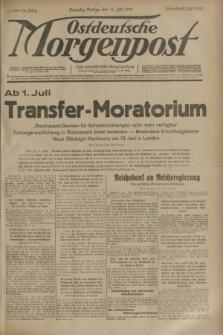 Ostdeutsche Morgenpost : erste oberschlesische Morgenzeitung. Jg.15, Nr. 156 (9 Juni 1933)
