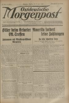 Ostdeutsche Morgenpost : erste oberschlesische Morgenzeitung. Jg.15, Nr. 166 (19 Juni 1933) + dod.