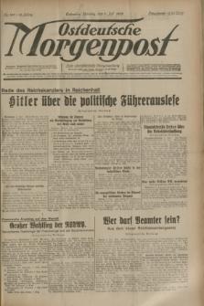 Ostdeutsche Morgenpost : erste oberschlesische Morgenzeitung. Jg.15, Nr. 180 (3 Juli 1933) + dod.
