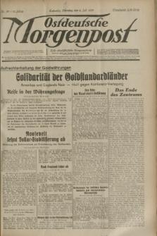 Ostdeutsche Morgenpost : erste oberschlesische Morgenzeitung. Jg.15, Nr. 181 (4 Juli 1933)
