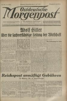 Ostdeutsche Morgenpost : erste oberschlesische Morgenzeitung. Jg.15, Nr. 185 (8 Juli 1933)