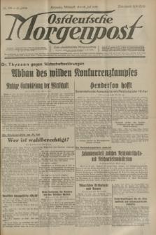 Ostdeutsche Morgenpost : erste oberschlesische Morgenzeitung. Jg.15, Nr. 196 (19 Juli 1933)