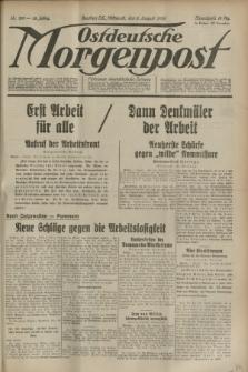 Ostdeutsche Morgenpost : Führende oberschlesische Zeitung. Jg.15, Nr. 210 (2 August 1933)