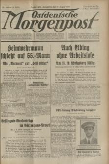 Ostdeutsche Morgenpost : oberschlesische Morgenzeitung. Jg.15, Nr. 220 (12 August 1933)