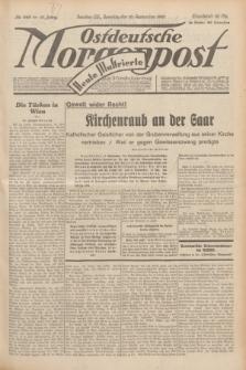 Ostdeutsche Morgenpost : Führende Wirtschaftszeitung. Jg.15, Nr. 249 (10 September 1933) + dod.