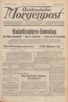 Ostdeutsche Morgenpost : Führende Wirtschaftszeitung. Jg.15, Nr. 250 (11 September 1933)