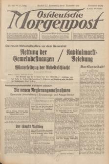 Ostdeutsche Morgenpost : Führende Wirtschaftszeitung. Jg.15, Nr. 260 (21 September 1933) + dod.