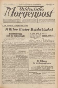Ostdeutsche Morgenpost : Führende Wirtschaftszeitung. Jg.15, Nr. 267 (28 September 1933)