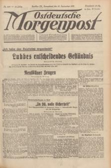 Ostdeutsche Morgenpost : Führende Wirtschaftszeitung. Jg.15, Nr. 269 (30 September 1933)