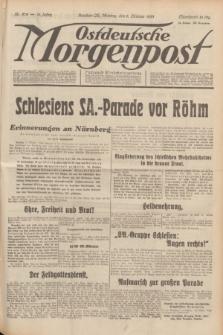 Ostdeutsche Morgenpost : Führende Wirtschaftszeitung. Jg.15, Nr. 278 (9 Oktober 1933)