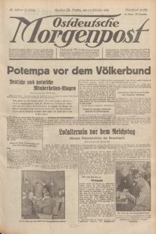 Ostdeutsche Morgenpost : Führende Wirtschaftszeitung. Jg.15, Nr. 282 (13 Oktober 1933)