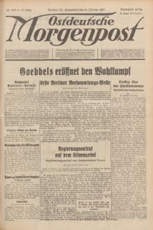 Ostdeutsche Morgenpost : Führende Wirtschaftszeitung. Jg.15, Nr. 290 (21 Oktober 1933)
