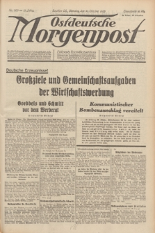 Ostdeutsche Morgenpost : Führende Wirtschaftszeitung. Jg.15, Nr. 300 (31 Oktober 1933)