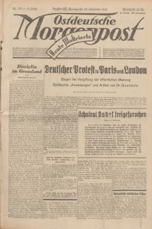 Ostdeutsche Morgenpost : Führende Wirtschaftszeitung. Jg.15, Nr. 319 (19 November 1933) + dod.