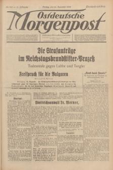 Ostdeutsche Morgenpost : Führende Wirtschaftszeitung. Jg.15, Nr. 345 (15 Dezember 1933)