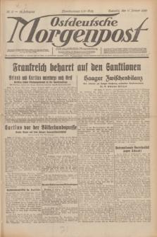 Ostdeutsche Morgenpost : erste oberschlesische Morgenzeitung. Jg.12, Nr. 11 (11 Januar 1930)