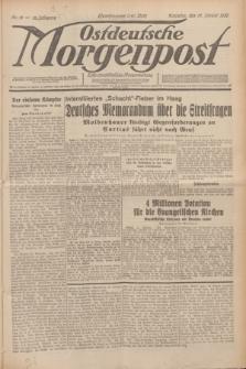 Ostdeutsche Morgenpost : erste oberschlesische Morgenzeitung. Jg.12, Nr. 12 (12 Januar 1930) + dod.