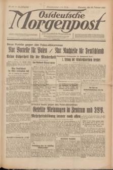 Ostdeutsche Morgenpost : erste oberschlesische Morgenzeitung. Jg.12, Nr. 53 (22 Februar 1930)