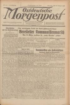 Ostdeutsche Morgenpost : erste oberschlesische Morgenzeitung. Jg.12, Nr. 54 (23 Februar 1930) + dod.