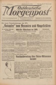 Ostdeutsche Morgenpost : erste oberschlesische Morgenzeitung. Jg.12, Nr. 57 (26 Februar 1930)