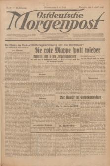 Ostdeutsche Morgenpost : erste oberschlesische Morgenzeitung. Jg.12, Nr. 96 (6 April 1930) + dod.