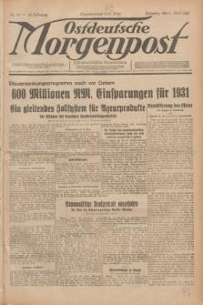 Ostdeutsche Morgenpost : erste oberschlesische Morgenzeitung. Jg.12, Nr. 98 (8 April 1930)