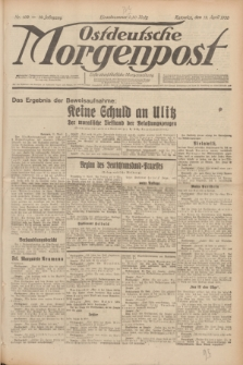 Ostdeutsche Morgenpost : erste oberschlesische Morgenzeitung. Jg.12, Nr. 102 (12 April 1930)