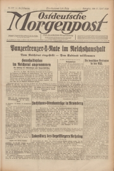 Ostdeutsche Morgenpost : erste oberschlesische Morgenzeitung. Jg.12, Nr. 107 (17 April 1930)