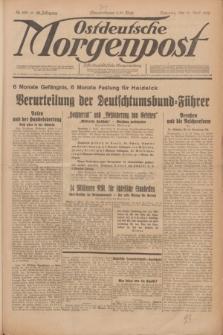 Ostdeutsche Morgenpost : erste oberschlesische Morgenzeitung. Jg.12, Nr. 108 (18 April 1930)
