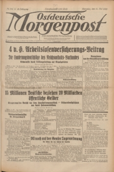 Ostdeutsche Morgenpost : erste oberschlesische Morgenzeitung. Jg.12, Nr. 134 (15 Mai 1930)
