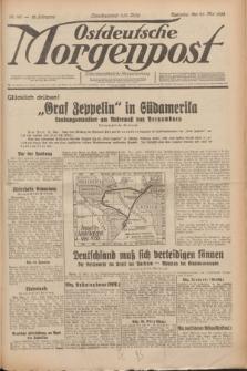 Ostdeutsche Morgenpost : erste oberschlesische Morgenzeitung. Jg.12, Nr. 142 (23 Mai 1930)